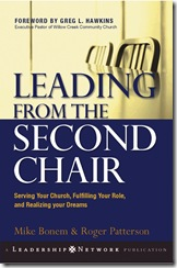 Leading from second chair cover