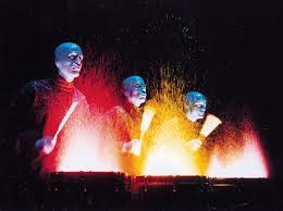 The Creativity of Blue Man