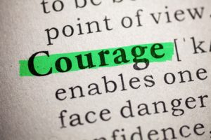 Borrowing Courage